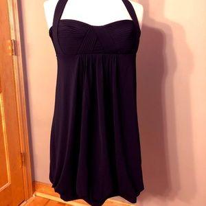 BCBG Little Black Dress Halter Style